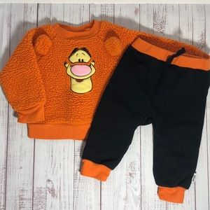 Disney Baby Tigger Matching Outfit 6-9M (Pooh)